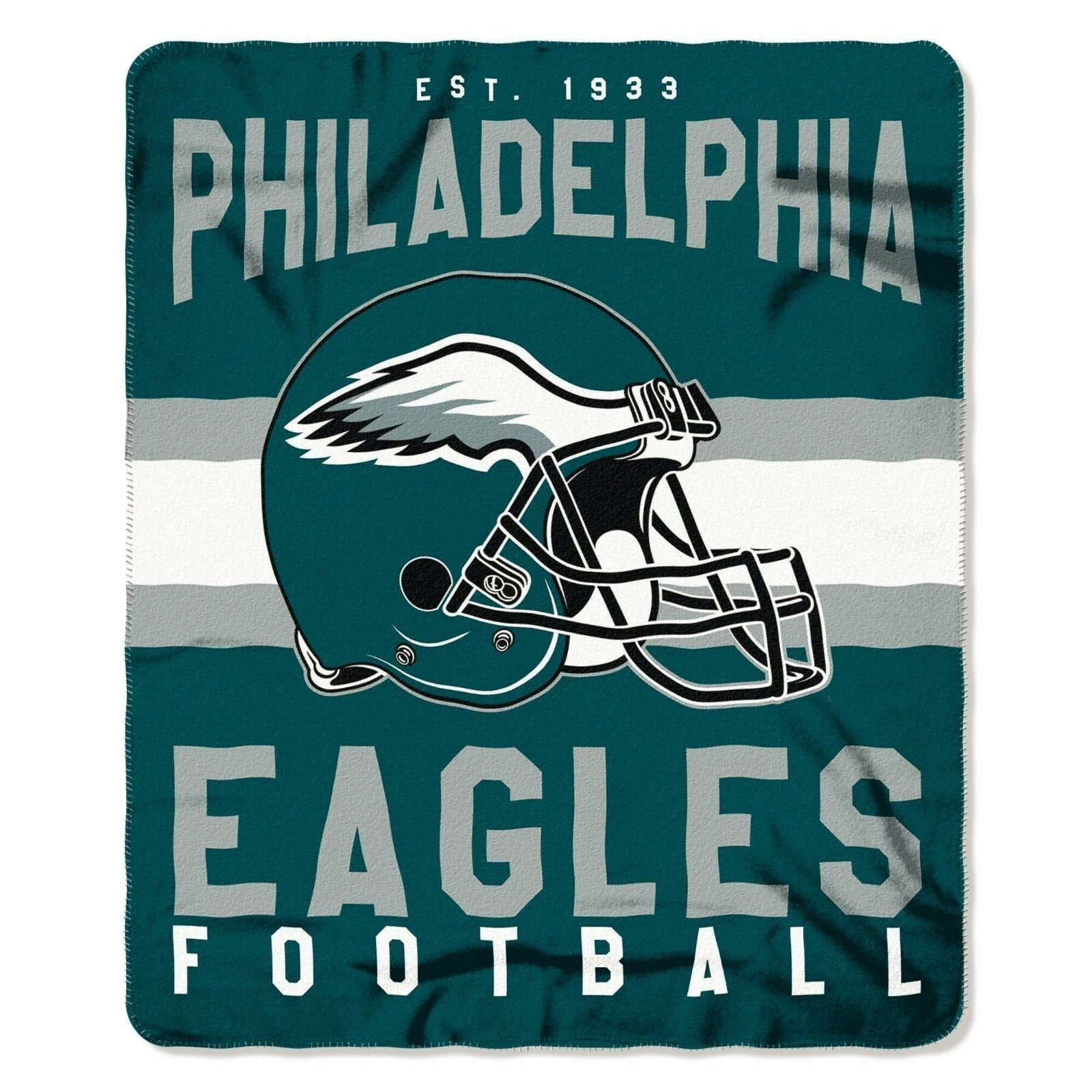 """New NFL ALL 32 Teams Available Helmet Logo Soft Fleece Throw Blanket 50"""" X 60"""""""