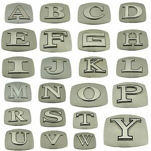 Initial-Belt-Buckles-Texas-Usa-American-Western-Cowboy-Letter-Monogram-Alphabet