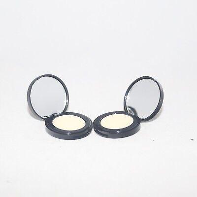 Lot of 2 Estee Lauder Lip Conditioner Balm Baume Mirrored Compact Travel Size - Estee Lauder Lip Conditioner
