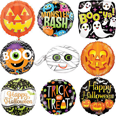 Halloween Foil Balloons Fun Halloween Party Decorations - Assorted Designs