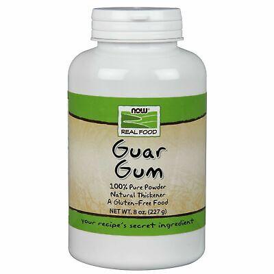 Now Foods GUAR GUM Powder Natural Thickener Gluten-Free Keto Diet 8 oz ()