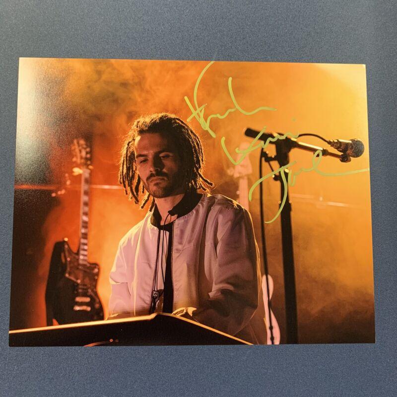 FKJ FRENCH KIWI JUICE HAND SIGNED 8x10 PHOTO AUTOGRAPHED SINGER VERY RARE COA