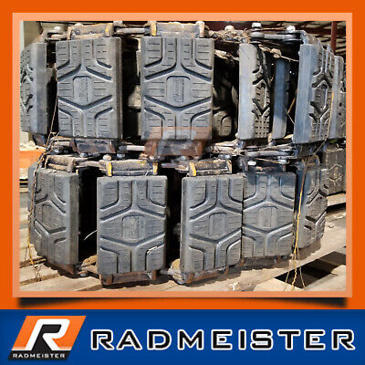 Skid Steer Rubber Over The Tire Tracks 10 For Use On 10x16.5 Tires