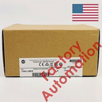 20182019 Us Stock Allen-bradley Compactlogix 1mb Enet Controller 1769-l30er