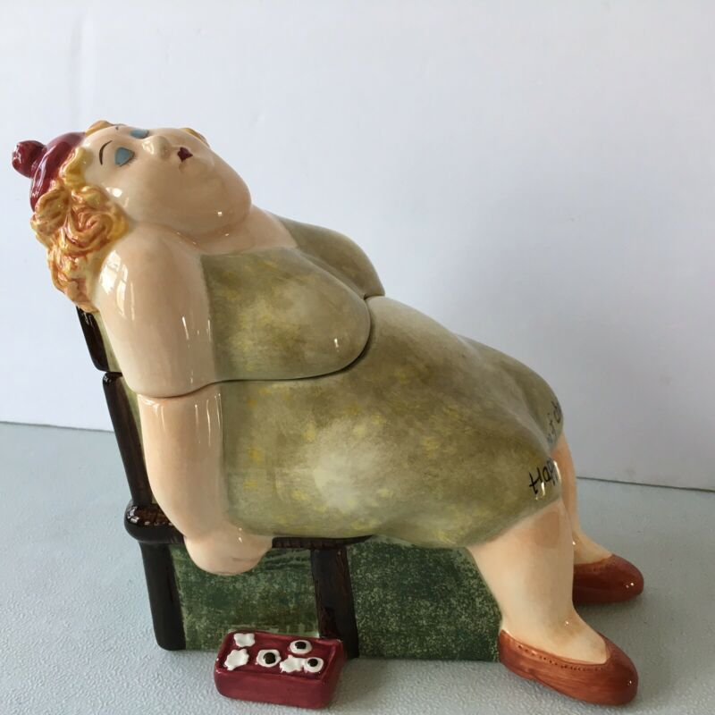 Happily Dying Of Chocolate Cookie Candy Jar By Erika Oller House Of Prill 2002