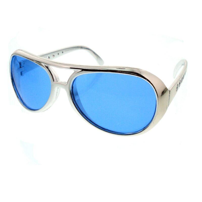 e7909864c708 Мужские солнцезащитные очки Classic ELVIS PRESLEY Sun Glasses LAS VEGAS  COSTUME GOLD ...