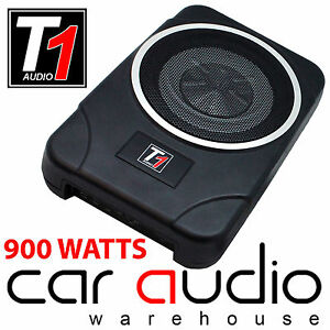 t1 audio t1 20act 900 watts amplified under seat flat. Black Bedroom Furniture Sets. Home Design Ideas