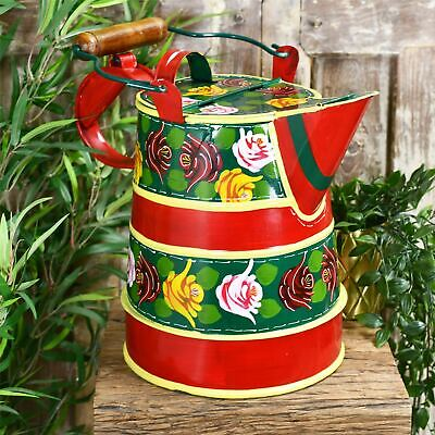 Narrowboat Watercan Traditional Style - Small Green