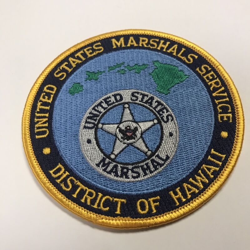 United States Marshal Service District Of Hawaii Shoulder Patch