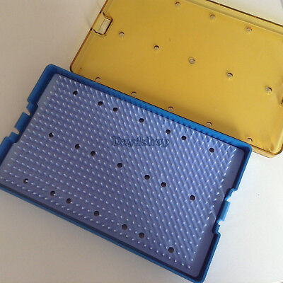 New Small Silica Gel Sterilization Tray Case Box Opthalmic Surgical Instrument