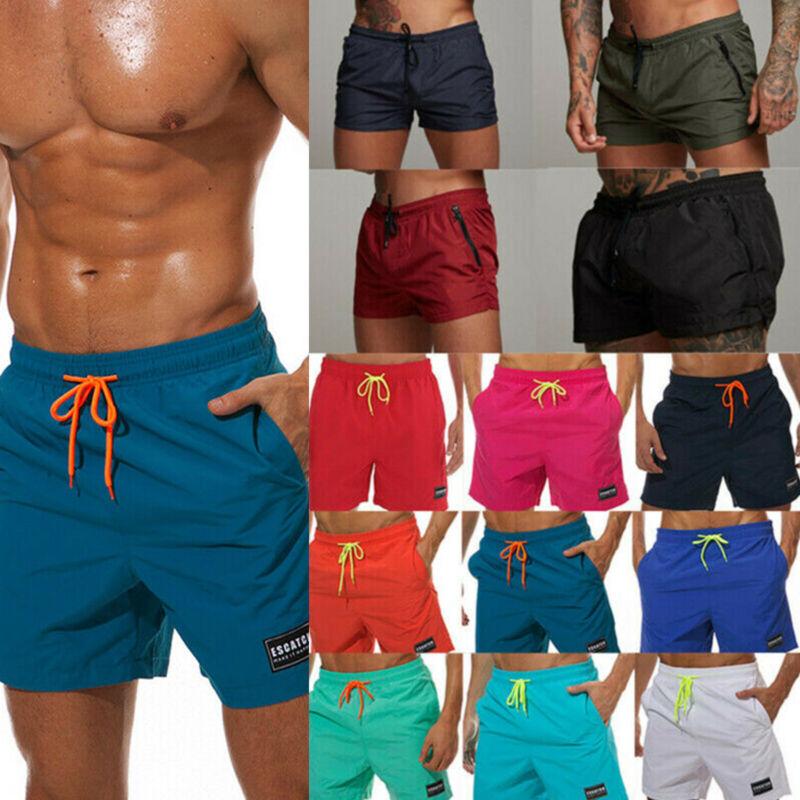 Herren Badeshorts Schwimmshort Sports Fitness Sommer Shorts Strand Kurz Hosen