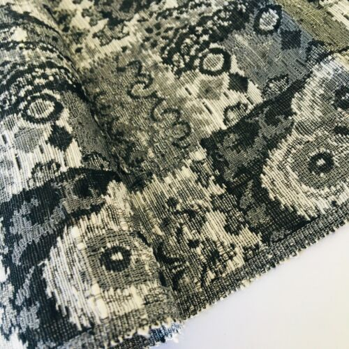Monotone #C 7x55 Tsumugi Silk Japanese Kimono Fabric Authentic Sewing Panel TD4