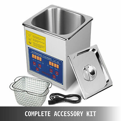 2 L Digital Ultrasonic Cleaner Ps-10a Jewelry Eyeglass Watch Cleaning Equipment