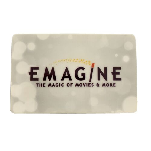 Emagine 9 Gift Card, Movie Theater, Entertainment - $4.00