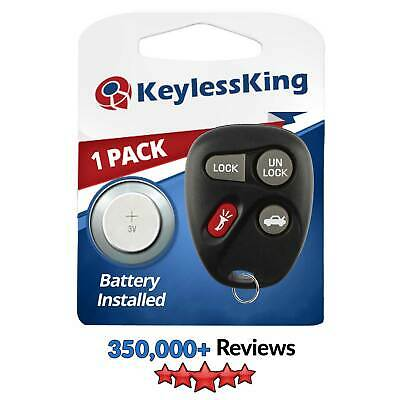 New Replacement Keyless Entry Remote Key Fob Clicker Control Beeper for ABO1502T 1999 Pontiac Bonneville Replacement