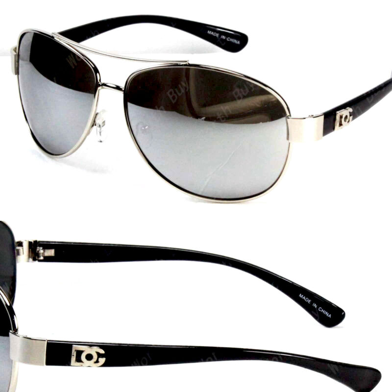 216b3eea7979 New DG Eyewear Fashion Designer Sunglasses Mens Womens Black Retro Pilot  Shades