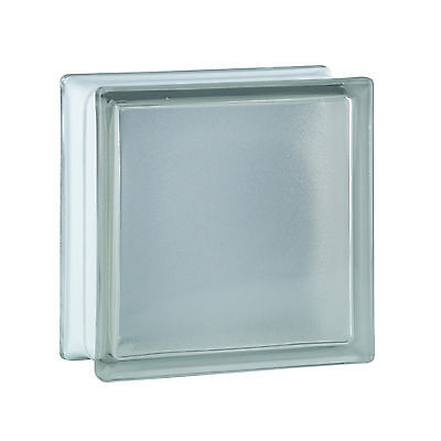 6 stuk glazen bouwsteen glasblok bouwglas Riva transparent 19x19x8cm