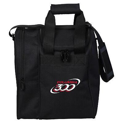 Columbia Team C300 Single Tote Black 1 Ball Bowling Bag