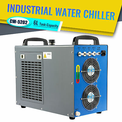 Industrial Water Chiller Cw-5202 For 60-150w Co2 Laser Engraver Cutter Machines