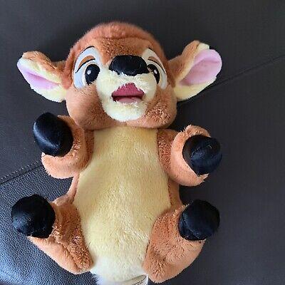 """Bambi Baby Deer Disney Babies Soft Plush Stuffed Animal Toy 11"""""""