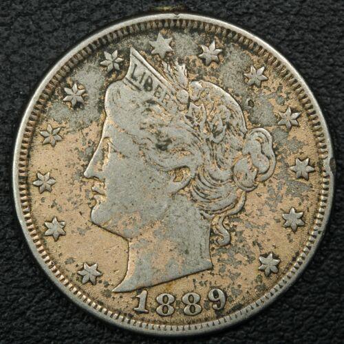 1889 Love Token Liberty V Nickel