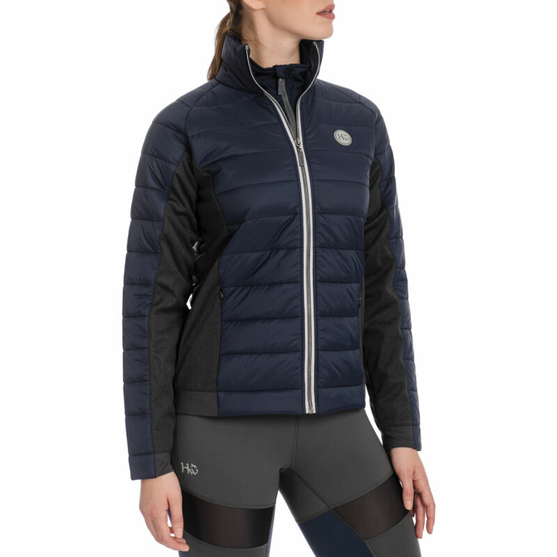Horseware Winter Hybrid Womens Jacket Riding - Navy All Sizes