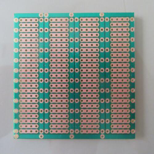 5pcs Stripboard 6.1x6.3cm Prototype 4er circuit Board Breadboard veroboard pcb