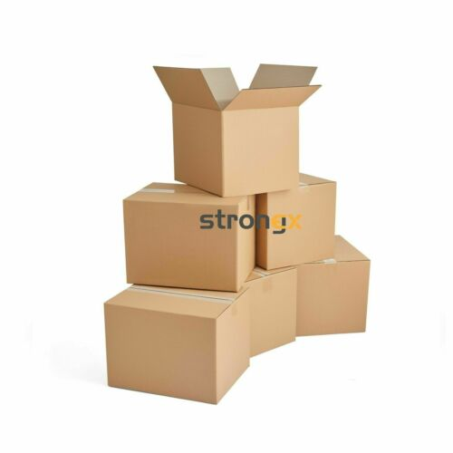 9x6x4 10-600 Corrugated Moving Box Packaging Boxes Cardboard Packing Shipping