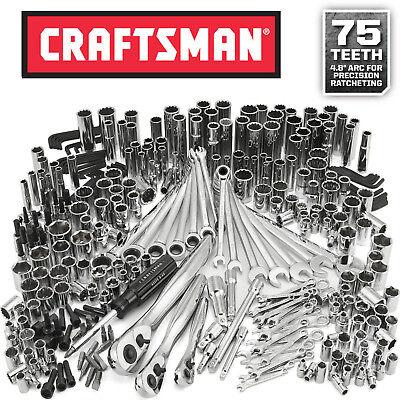 Craftsman 311 pc Mechanics Tool Set Ratcheting Combination Wrench NEW Retail Box