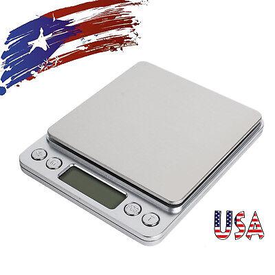 USA Best 3000g X 0.1g Digital Scale Jewelry Weight Electronic Balance Gram