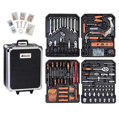 899 tlg. Werkzeugtrolly Werkzeugkoffer Werkzeugbox Werkzeugkiste Werkzeugkasten