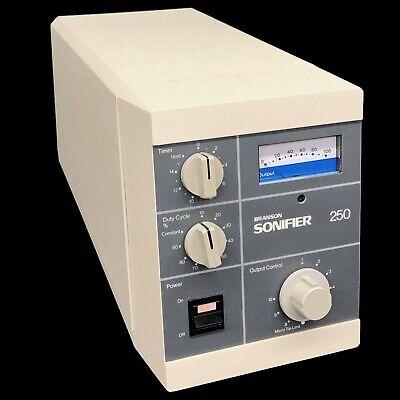 Branson Sonifier 250 Ultrasonic Cell Disrupter 100-132-135 No Horn 2