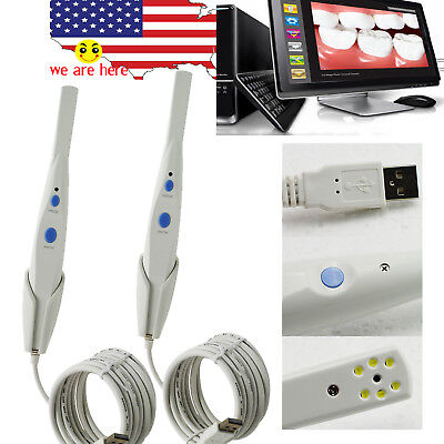 Advanced 2pc Hk790 105 View Dental 5.0 Mega Pixels Usb 2.0 Intraoral Camera