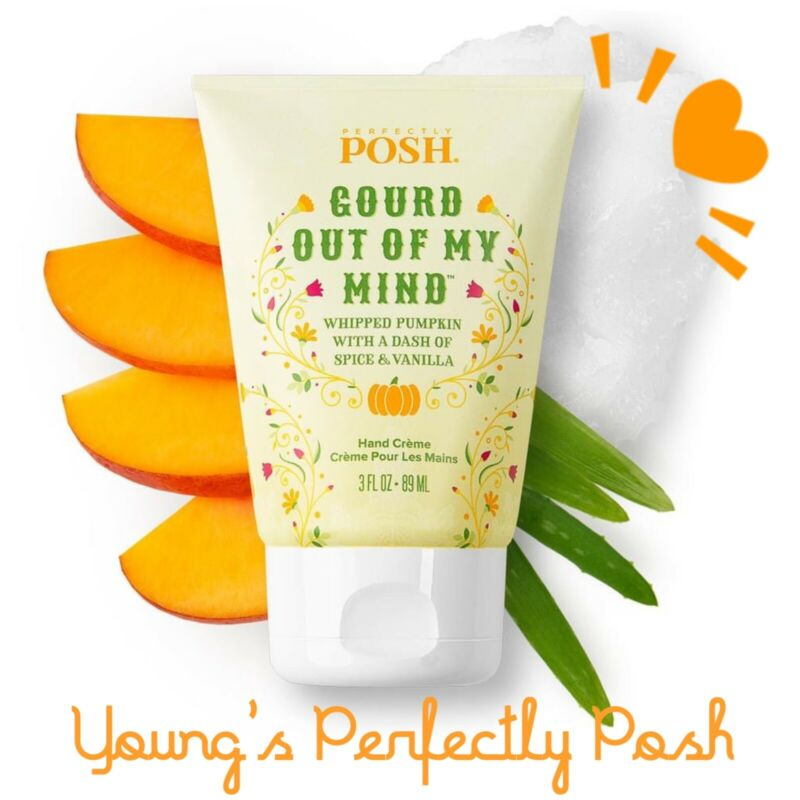 Perfectly Posh  Gourd Out of My Mind Hand Crème New/sealed Creme