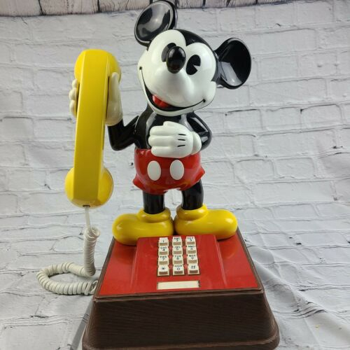 Vintage 1976 The Mickey Mouse Phone Model TEIF 8000