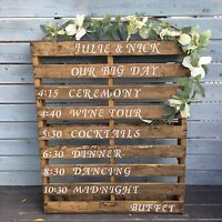 Beautiful and affordable rustic wedding decor for rent