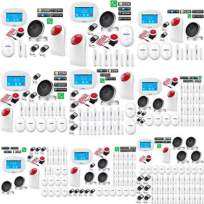 D84 KERUI APP WiFi GSM Wireless Home Security Alarm System+IP Camera+Auto Dialer