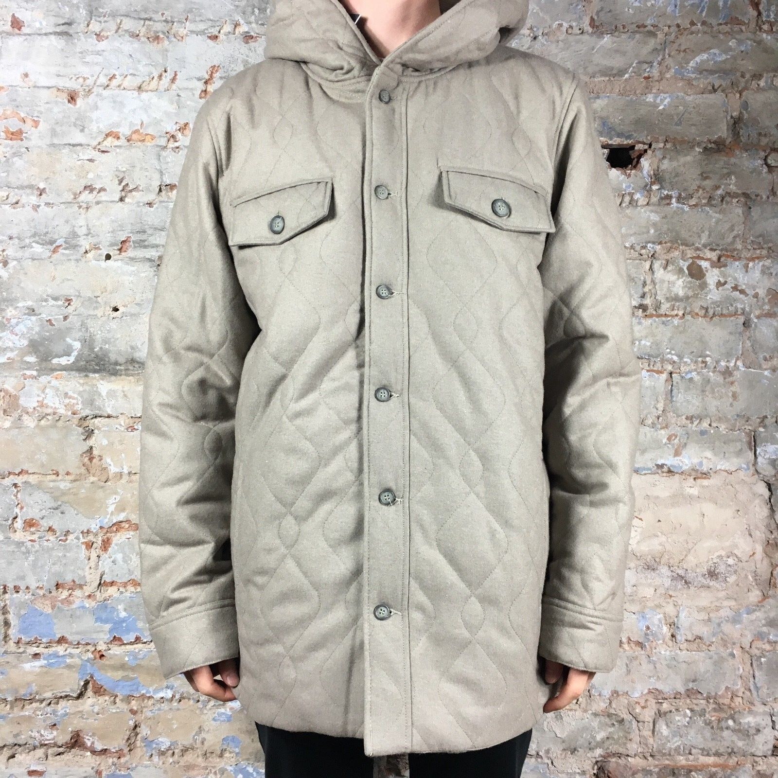 Insight Recoil 2 Hooded Jacket Fleece Brand New in Charcoal Size S,M