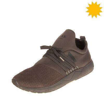 RRP €105 ARKK COPENHAGEN Sneakers EU 44 UK 9 US 10 Contrast Leather Perforated