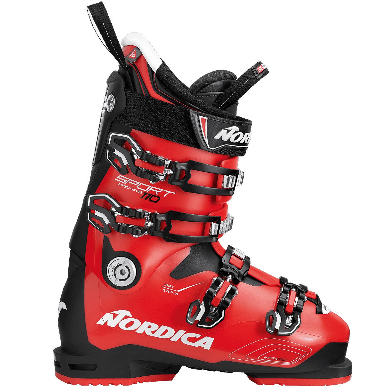 Nordica Sportmachine 110 Herren-Skistiefel Ski-Schuhe Stiefel Alpin Skischuhe