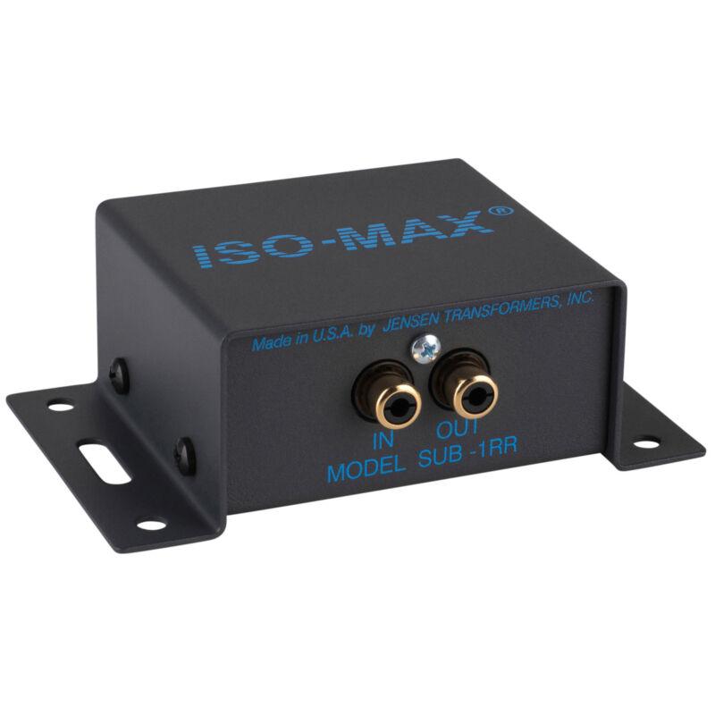 Jensen Iso-Max SUB-1RR Mono Subwoofer Line Input Isolator Hu