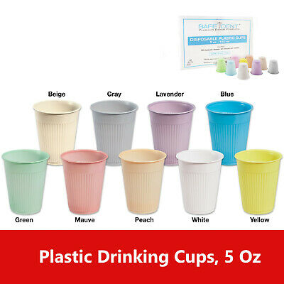 Disposable Drinking Cups For Dental Clinics 5oz Choose Color Up To 1000case