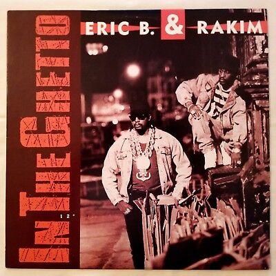 1990 - ERIC B. & RAKIM - IN THE GHETTO - MCA RECORDS ORIGINAL