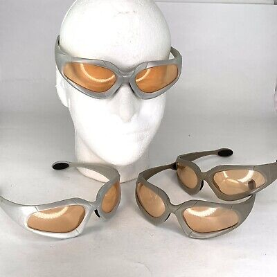 4 Pairs Official NERF Dart Tag Gun Glasses Safety Goggles