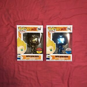 Funko Pop! Dragon Ball Z: Super Saiyan Vegeta Chrome