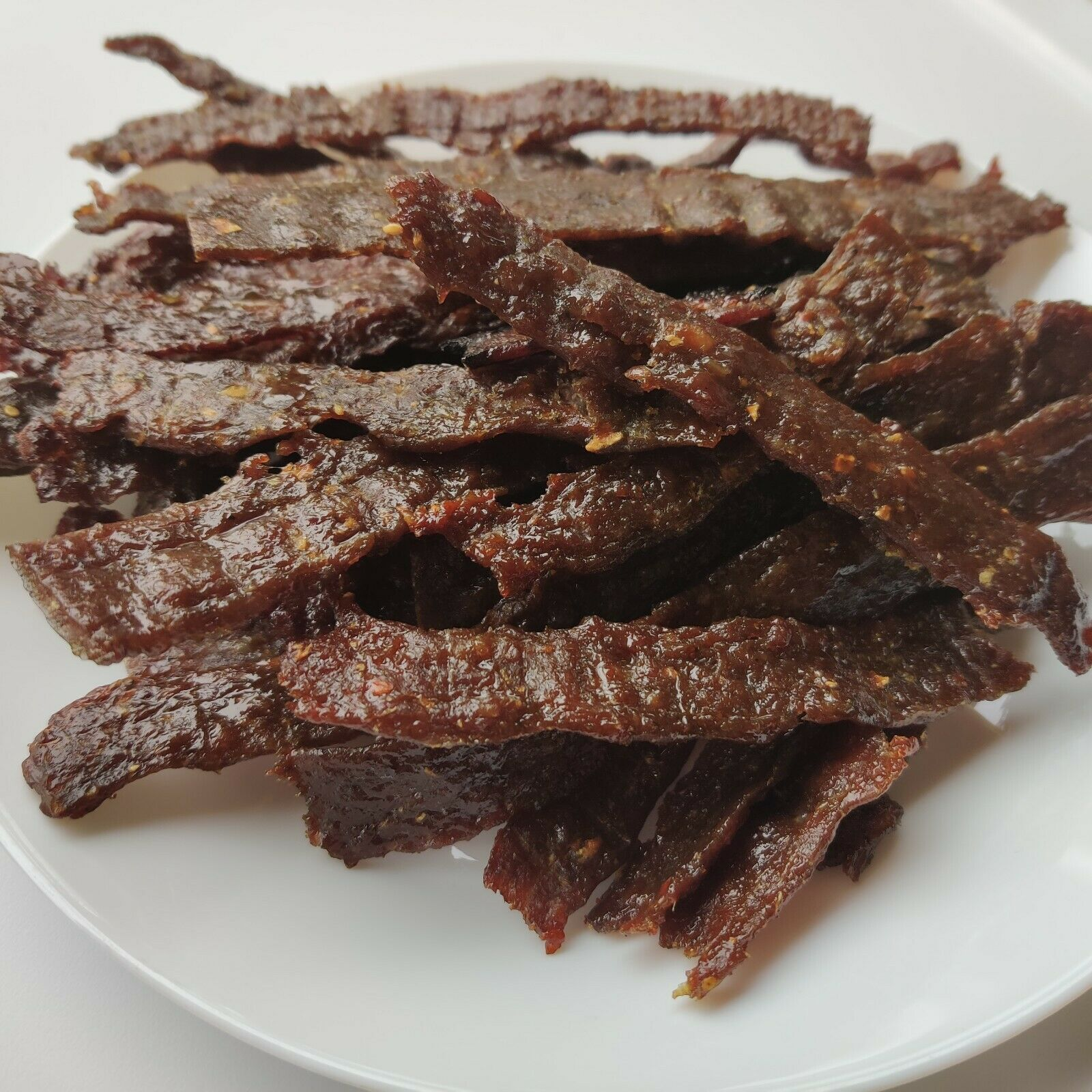 100 High Class BLACK ANGUS Beef HellBeef s jerky 8oz 1LB 1Pound