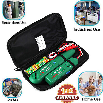 Cable Tracker Network Kit Wire Cable Finder Tester Telephone Line Tracer Test Us