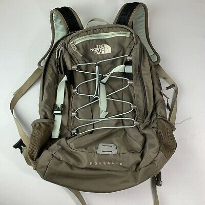 The North Face Borealis Backpack Bookbag School TNF Camping Bag Mountain Gray