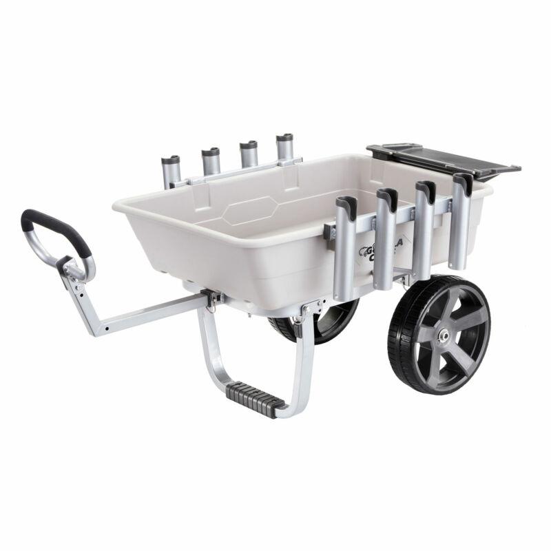 Gorilla Carts 200 Pound Capacity Heavy Duty Poly Fish and Marine Utility Cart