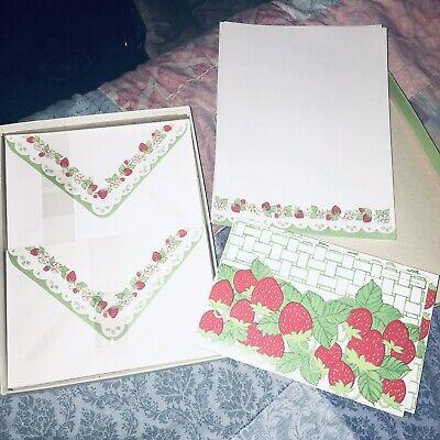 vintage stationary 🍓 strawberry 🍓 Patch stationary